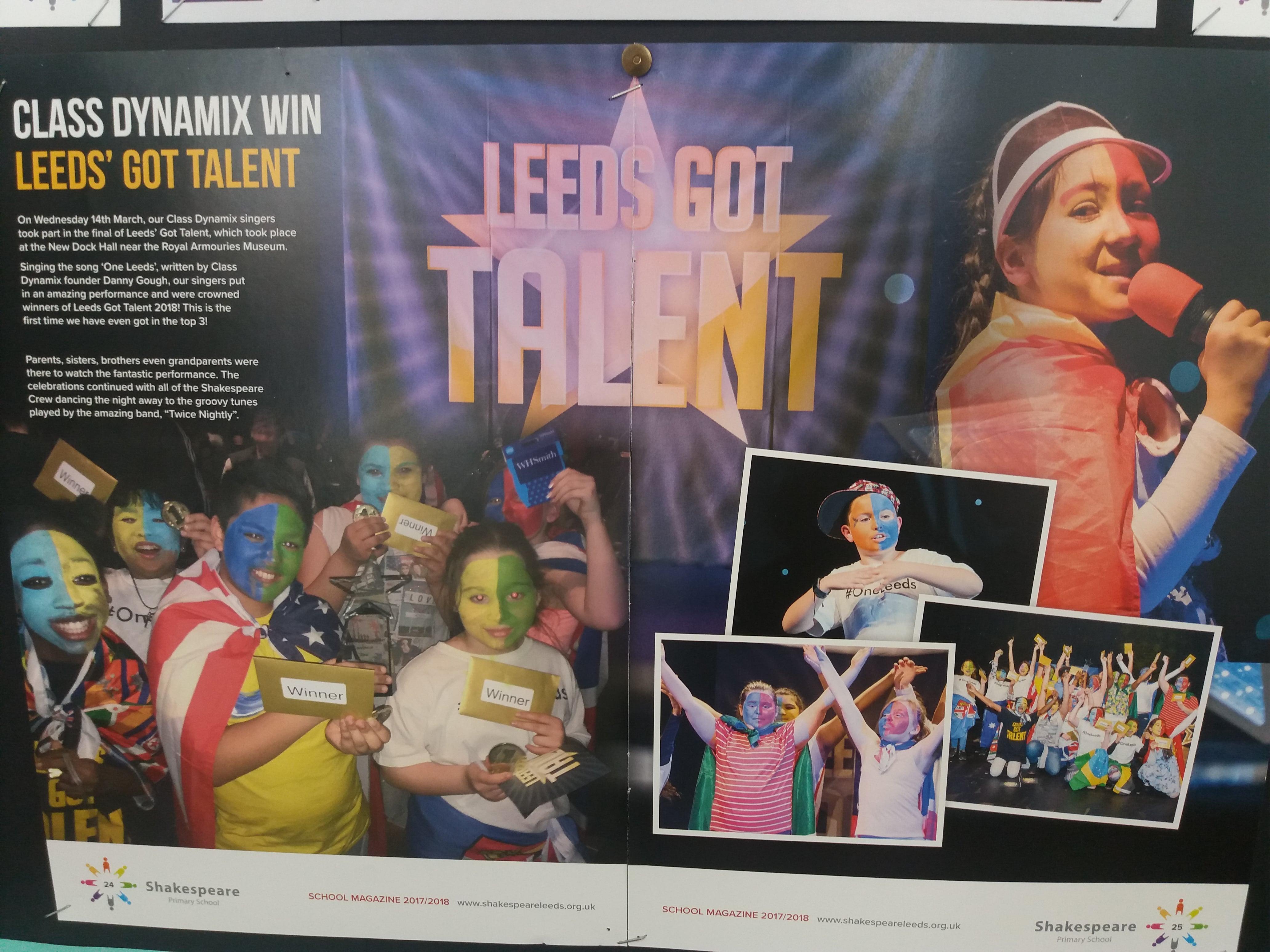 afbf9c5420c35 Leeds Got Talent 2019